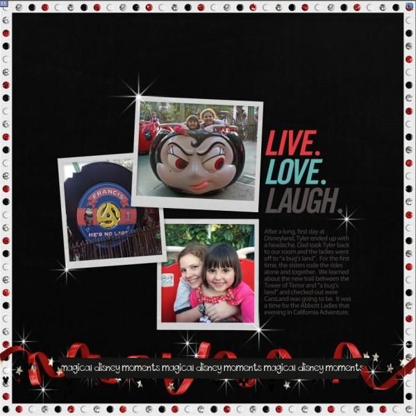 Disneyland2012FrancistheLadyBug