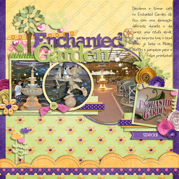 Dcl Enchanted Garden Dream And Fantasy