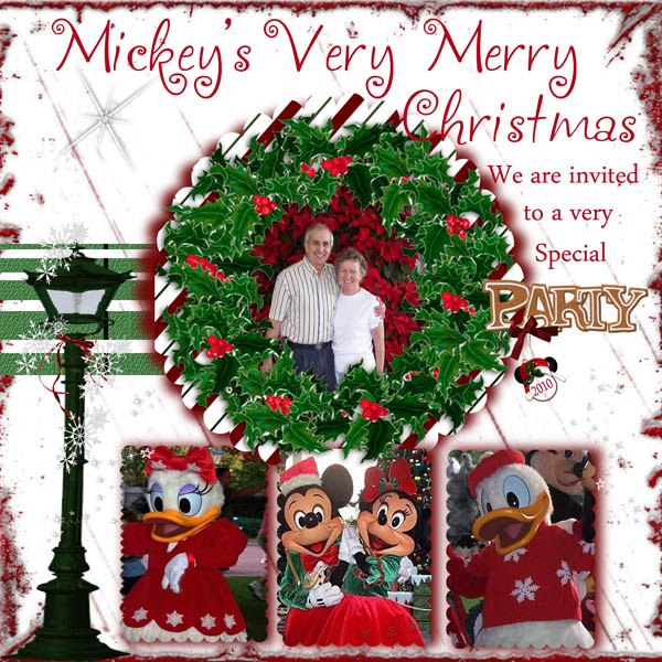 Disney S Very Merry Christmas Party Tickets: Christmas Weekly Challenge