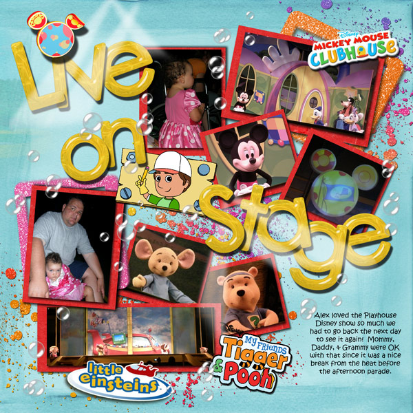 Playhouse Disney Live on Stage - MouseScrappers - Disney