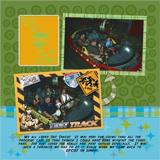 Test Track [Archive] - MouseScrappers com