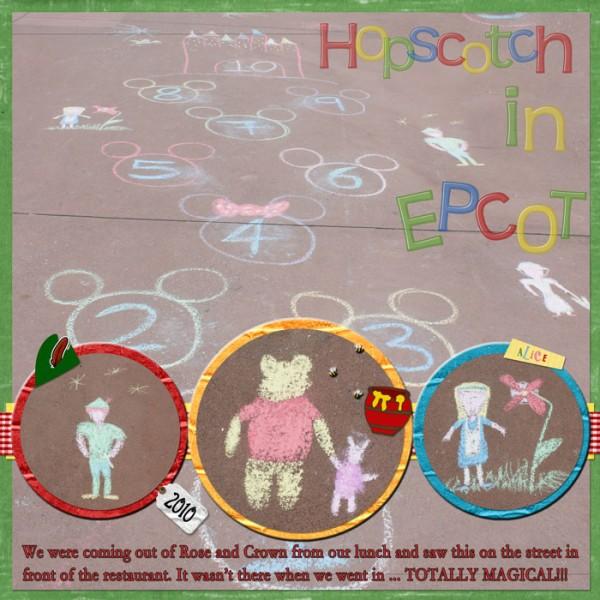 Hopscotch-Through-Epcot
