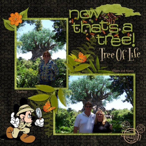 Now That's A Tree! - MouseScrappers - Disney Scrapbooking ...