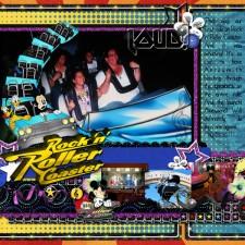 Rock N Roller Coaster Mousescrappers Disney
