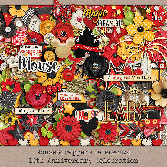 MouseScrappers 10th Anniversary - ELEMENTS