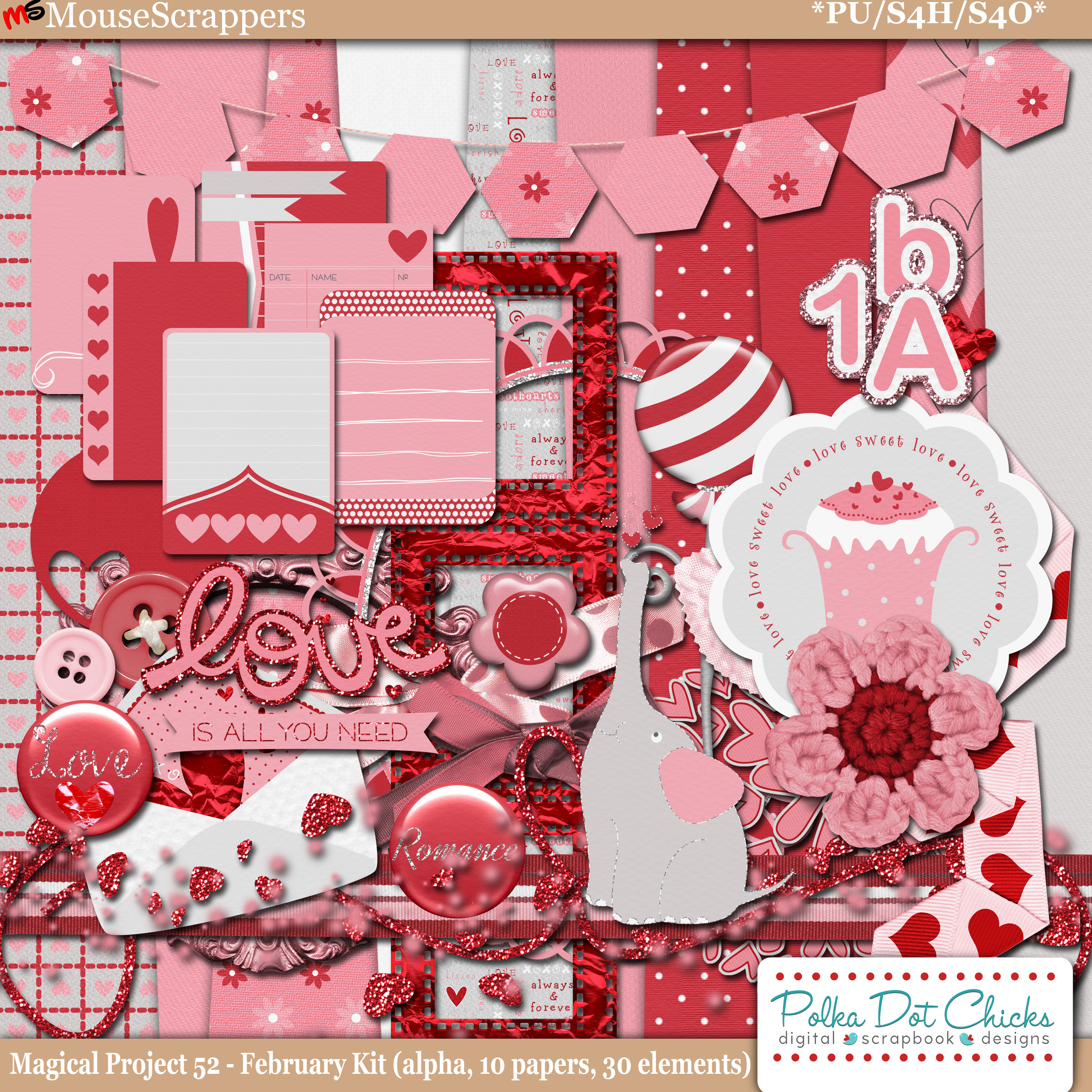 Magical Project 52 - February Kit