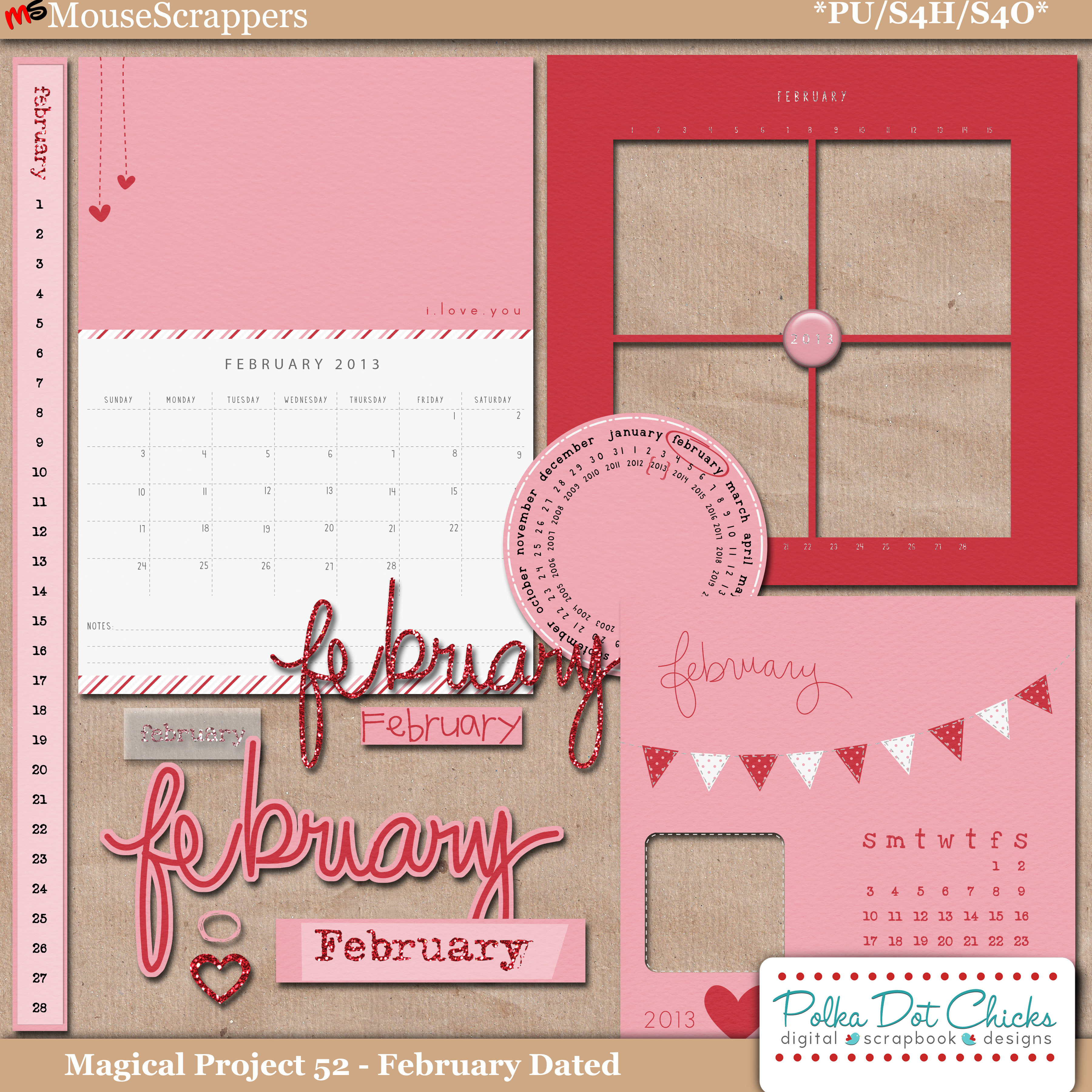 Magical Project 52 - February Dated