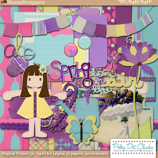 Magical Project 52 - April Kit