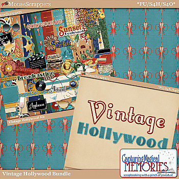 Vintage Hollywood Bundle by Capturing Magical Memories