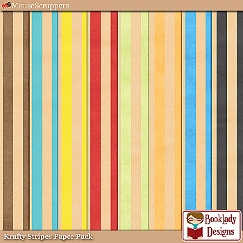 A Puppet On A String: Krafty Stripes Paper Pack