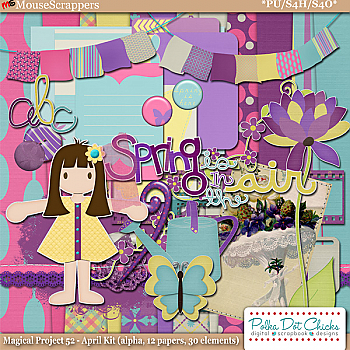 Magical Project 52 - April Kit by Polka Dot Chicks