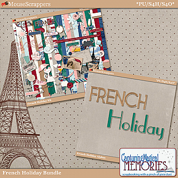 French Holiday Bundle by Capturing Magical Memories