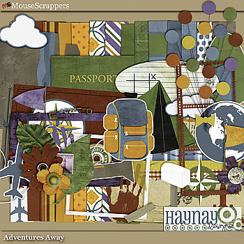 Adventures Away by Haynay Designs
