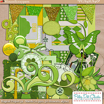 Magical Project 52: March Kit by Polka Dot Chicks