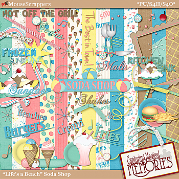 """Life's a Beach"" Soda Shop Kit by Capturing Magical Memories"