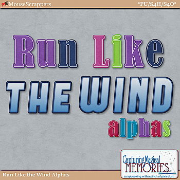 Run Like the Wind Alphas by Capturing Magical Memories