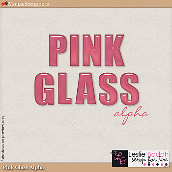 Pink Glass Alpha