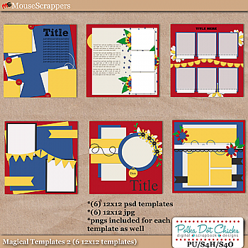 Magical Templates 2 by Polka Dot Chicks
