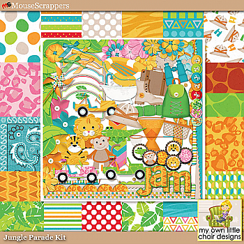 Jungle Parade Kit by My Own Little Chair Designs