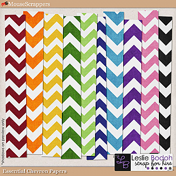Essential Chevron Paper Pack