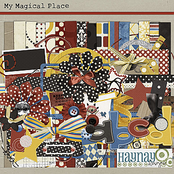 My Magical Place by Haynay Designs