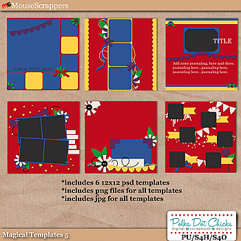 Magical Templates 5 by Polka Dot Chicks