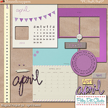 Magical Project 52 - April Dated by Polka Dot Chicks