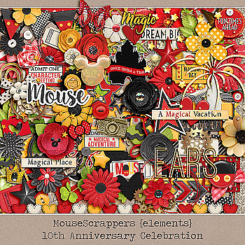 MouseScrappers 10th Anniversary BUNDLE